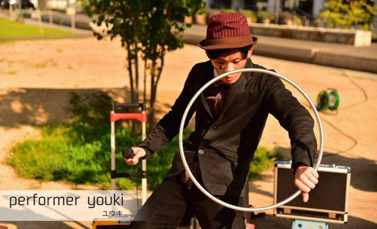 performer youki(ユウキ)