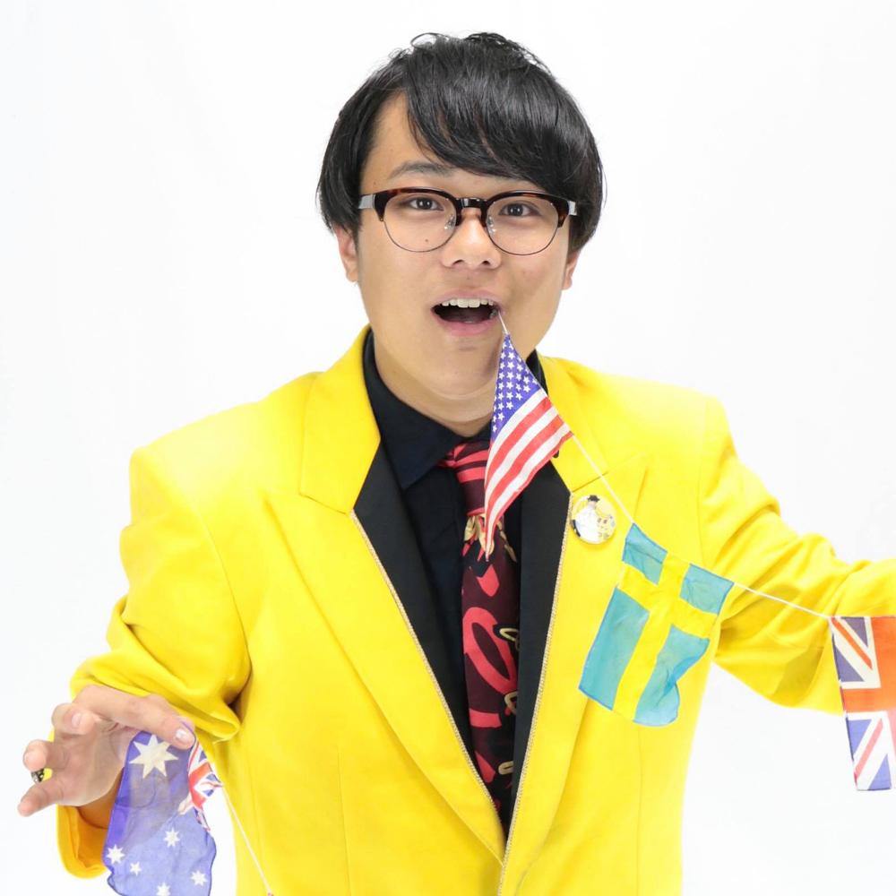 茨城県出身の若手マジシャン 塚原ゆうき